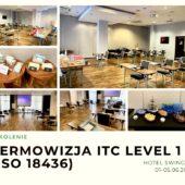 TERMOWIZJA ITC LEVEL 1 (ISO 18436)